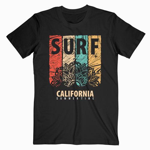 Surf California Summertime T Shirt