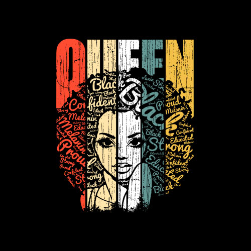 African American Shirt for Educated Strong Black Woman Queen T-Shirt