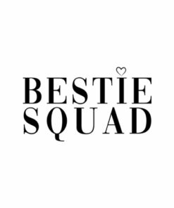 Best Friends Bestie Squad T-Shirt