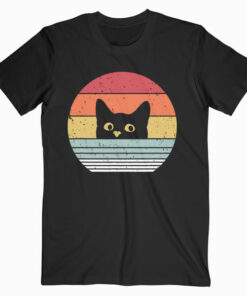 Cat Shirt Retro Style T-Shirt