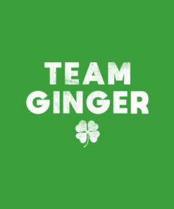Cute Red Head Team Ginger St Patricks Day Green T-Shirt
