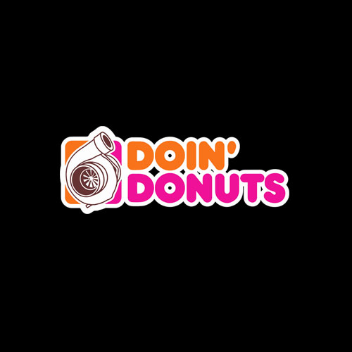 Doin' Donuts Funny Drift Racing Car Enthusiast T-Shirt