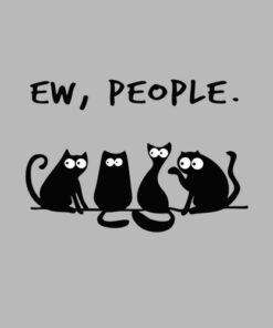 Ew people meowy cat lovers shirt