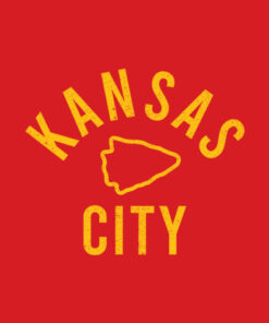 KC Kansas City Red Arrowhead Cool Kc Kingdom Pro Tribal Fan T-Shirt