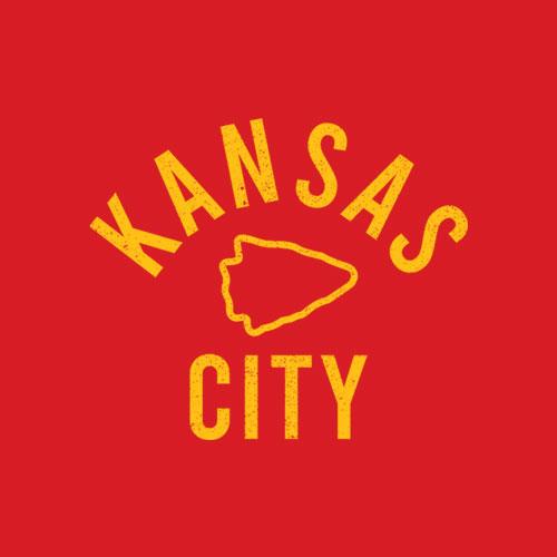 KC Kansas City Red Arrowhead Cool Kc Kingdom Pro Tribal Fan T-Shirt