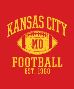Kansas City 2020 Vintage KC Football Missouri Retro Gift T-Shirt