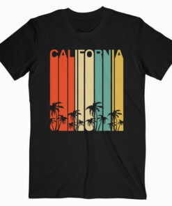 Retro California Surf Vintage Beach Cali 80s Venice T Shirt
