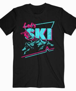 Retro Ski Vintage 80s 90s Ski Outfit Ski Clothes T-Shirt