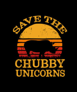 Save The Chubby Unicorns Vintage T-Shirt
