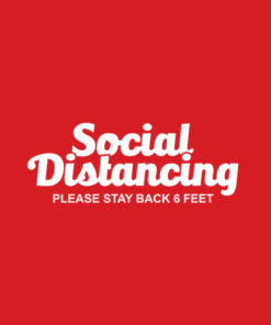 Social Distancing Please Stay Back 6 Feet Anti Social T-Shirt