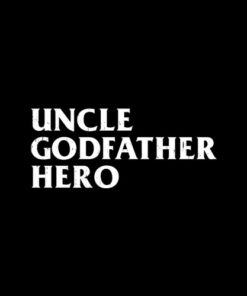 Uncle Cool awesome godfather hero family gift T Shirt