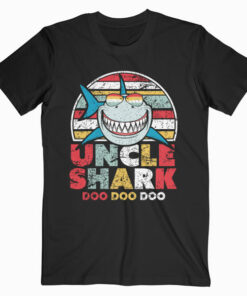Uncle Shark T-Shirt Doo Doo Doo Tee