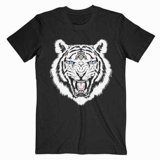 White Tiger Trendy Animal Print Easy Tiger Premium T-Shirt