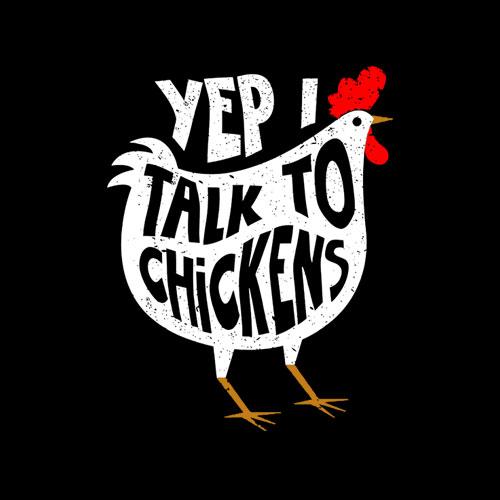 Yep I Talk To Chickens Shirt Cute Chicken Buffs Tee Gift