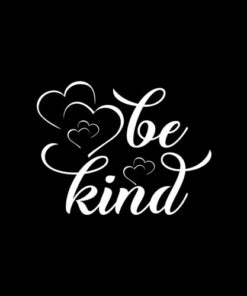 Be Kind Tee Cute Heart Graphic Family Inspirational T-Shirt
