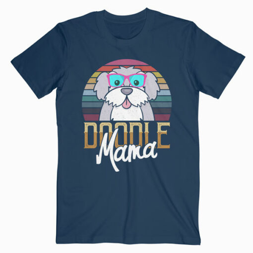 Doodle Mama Gift Goldendoodle Mom Golden doodle Gift T Shirt