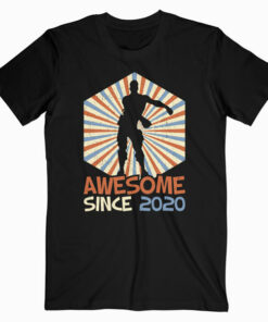 Gift for 10 Year Old birthday boy Awesome Since 2020 T-Shirt
