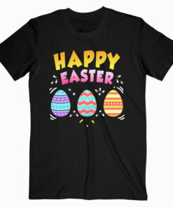 Happy Easter Day Colorful Egg Hunting Cute Shirt