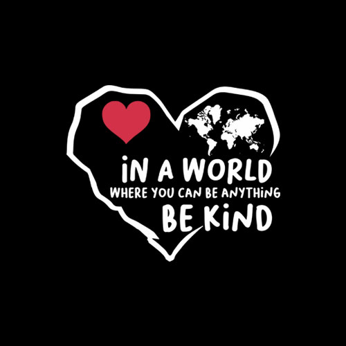 In A World Where You Can Be Anything Be Kind Gift T-Shirt