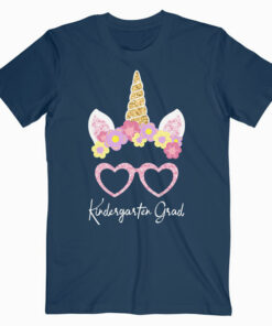 Kids Cute Kindergarten Graduate Grad 2020 Unicorn Gift T Shirt