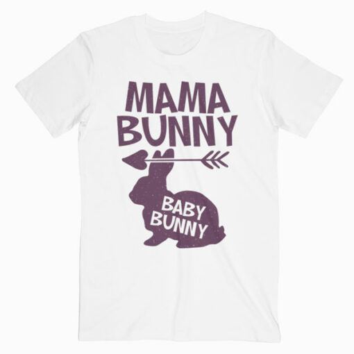 Mama Bunny Cute Easter Pregnant Mom Gift T-Shirt
