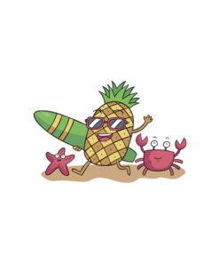 Pineapple Sunglasses T Shirt