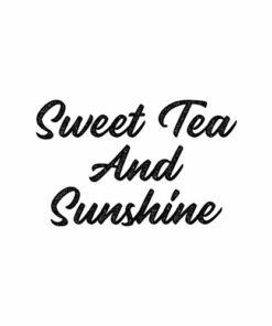 Sweet Tea And Sunshine T Shirt