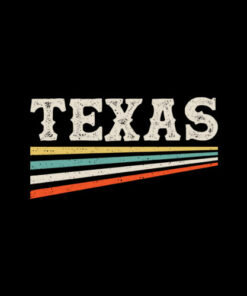 Texas Retro Vintage T-Shirt Unisex For Men Women