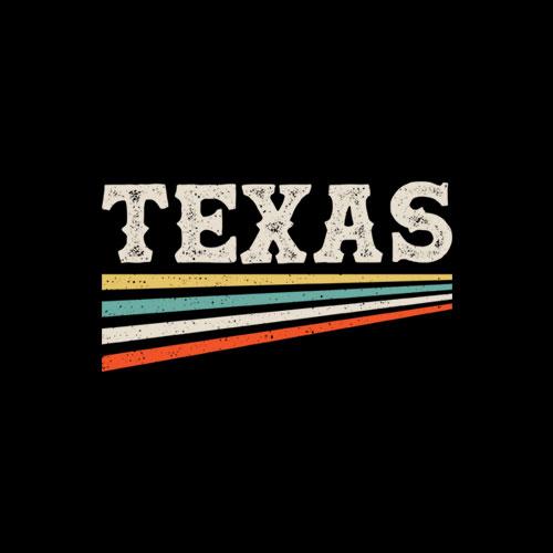 Texas Retro Vintage T-Shirt Unisex For Men Women