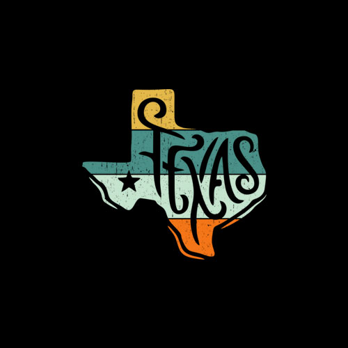 Texas State Country Retro Vintage T-Shirt