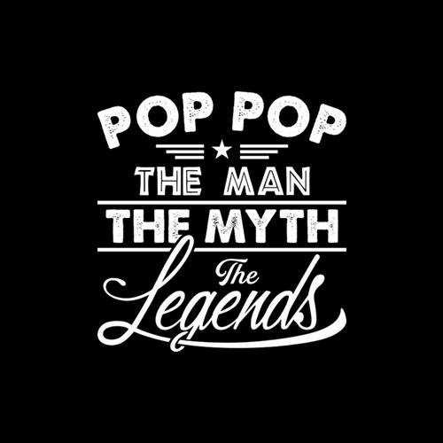 Vintage Pop Pop The Man The Myth The Legend Father Day Shirt