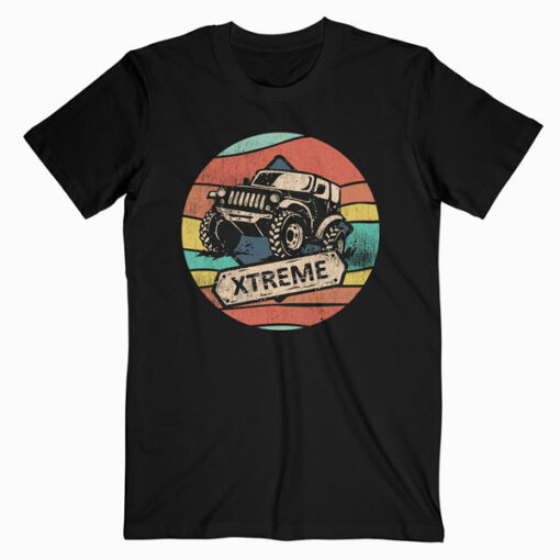 Vintage Retro 70s 4x4 Off Road for Boys Girls Men Women T-Shirt