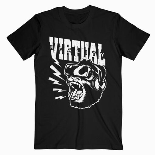 Virtual Monkey Funny T Shirt