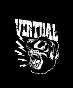 Virtual Monkey Funny T Shirt