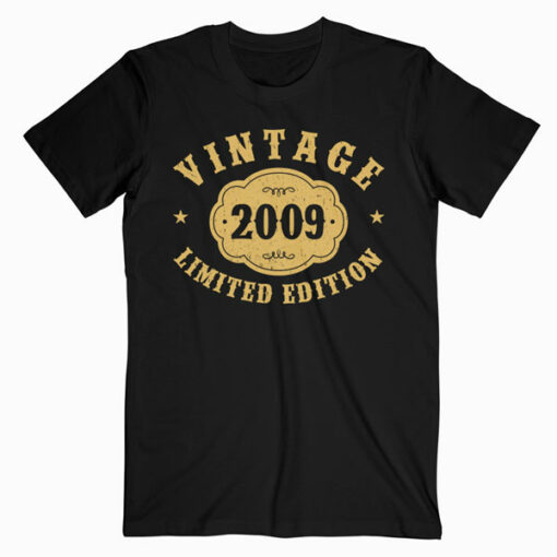 11 years old 11th Birthday Anniversary Gift Limited 2009 T-Shirt