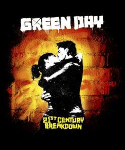 21st Century Breakdown Green Day Band T Shirt