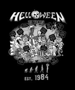 25 Years Helloween Band T Shirt