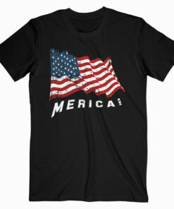 4th of July Independence Day US American Flag Patriotic T Shirts