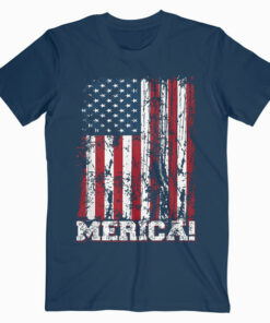 4th of July Independence Day US American Flag Patriotic T-Shirt