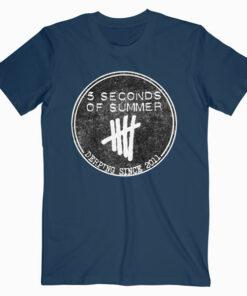 5 Seconds Of Summer Derping Since 2011 Band T Shirt