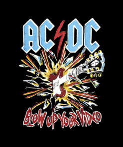 Acdc Blow Up Your Video Band T Shirt