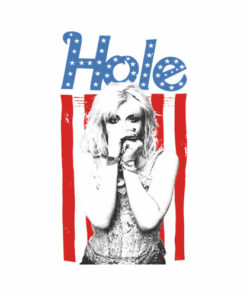 American Flag Hole T Shirt