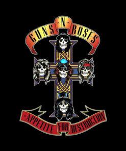 Appetite For Destruction Guns N Roses Band T Shirt