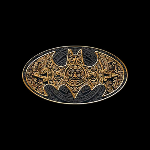 Batman Aztec Bat Logo T Shirt