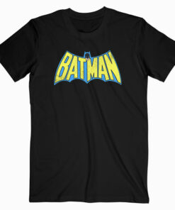Batman Classic Logo Distressed T Shirt bl