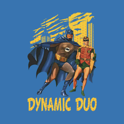 Batman Classic TV Series Classic Duo T Shirt