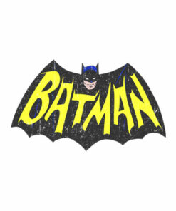 Batman Classic TV Series Show Logo T Shirt