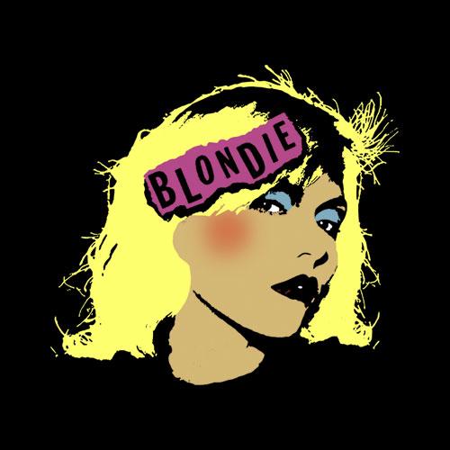 Blondie Punk Logo Band T Shirt