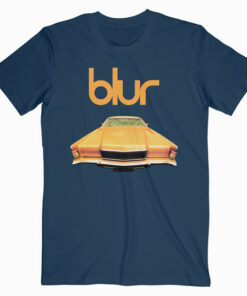 Blur In Concert Pus Special Guest Band T Shirt