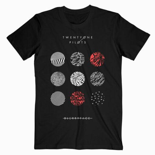 Blurryface Album Cover Twenty One Pilots Band T Shirt